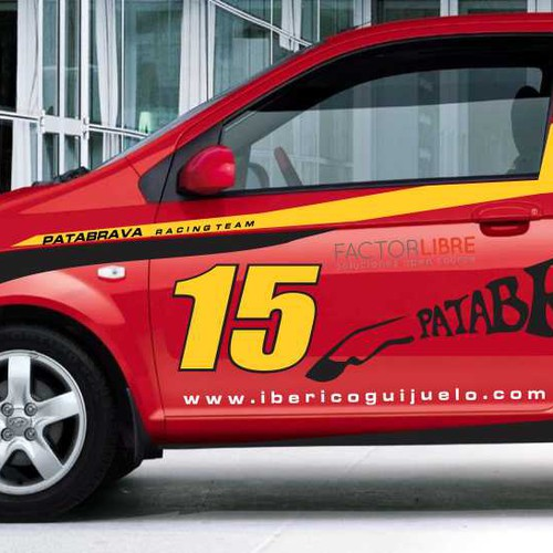 Car Wrap : Patabrava