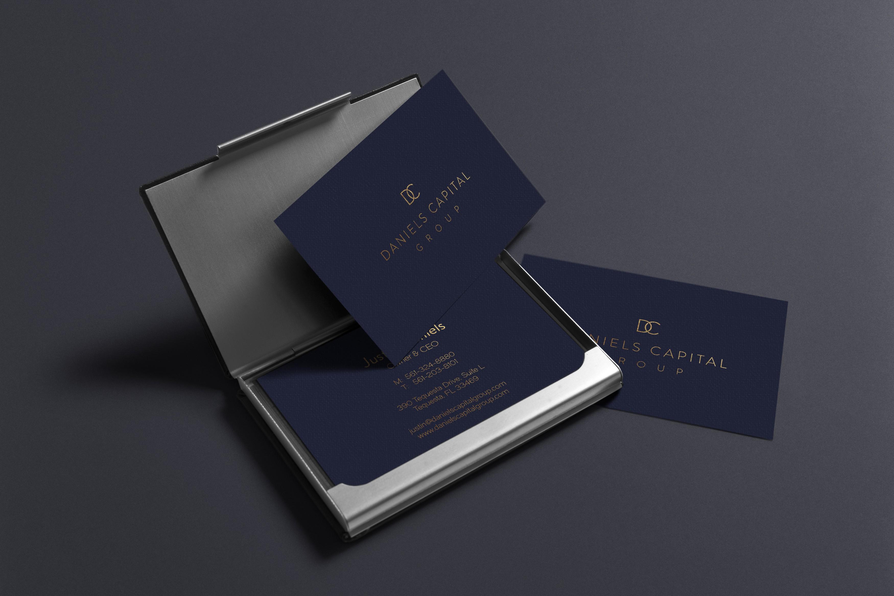 Daniels Capital Group - Logo & Stationery design