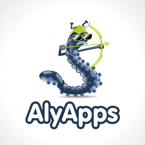 Caterpillar logo for mobile app development company