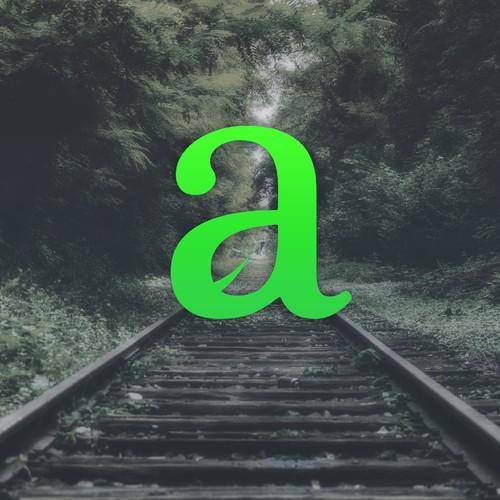 """""""a"""" logo - auka"""