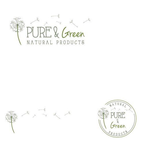 Logo for Pure & Green Natural Products