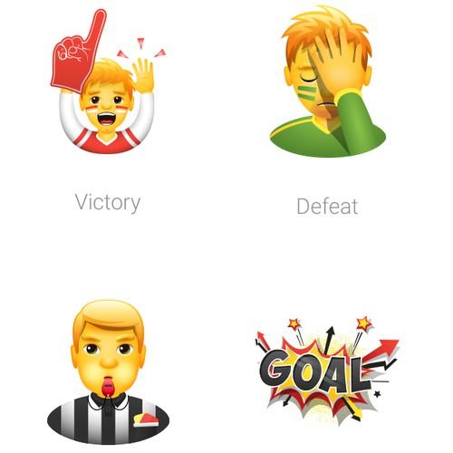Set of Sports Emoji