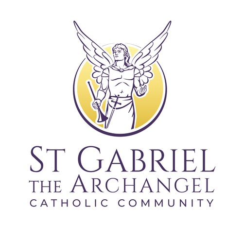 Logo for St. Gabriel is a Catholic Church