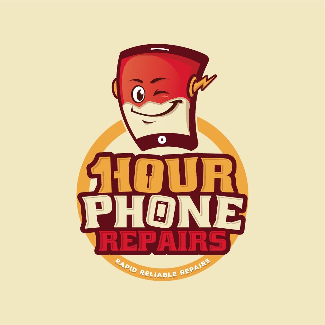 Design a Logo for a new phone repair business