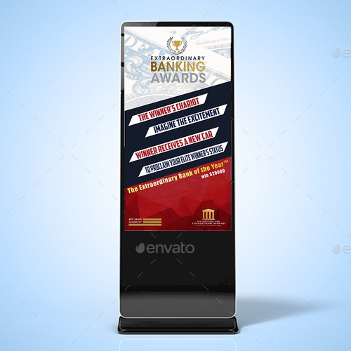 Banking Award Signage