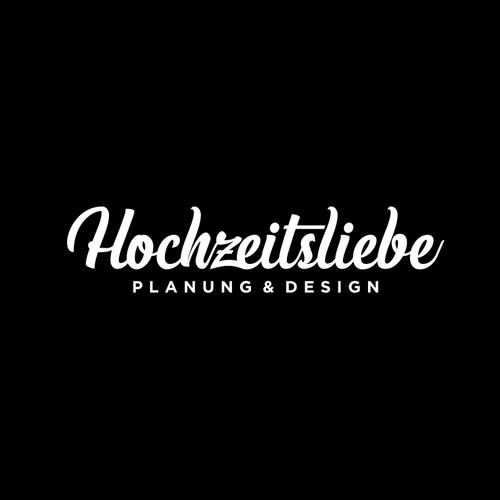 Bold Script logo for Hochzeitsliebe