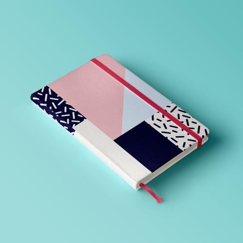 Notebook surface pattern