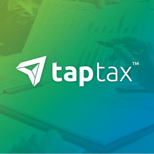 Logo Design for Tap Tax.