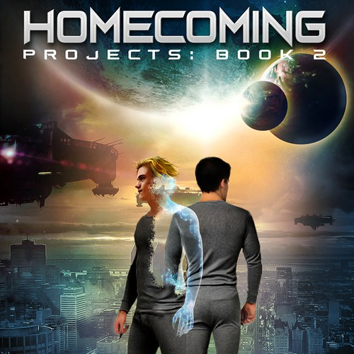 HOMECOMING cover concept for Jude Austin