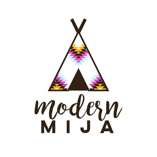 Logo for an apparel store for children.