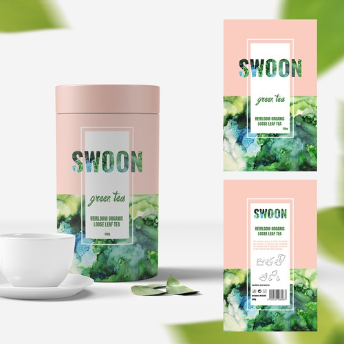 Packaging for green tea