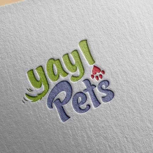 Logo concept for pet shop