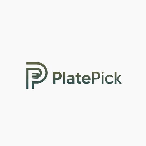 PlatePick Logo Concept