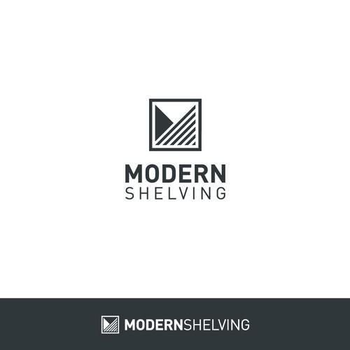 Modern Logo for Modern Shelving