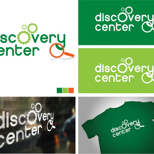logo for Discovery Center