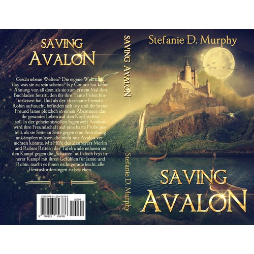"Please, make a fantastic eyecatcher for my book ""Savin Avalon"""