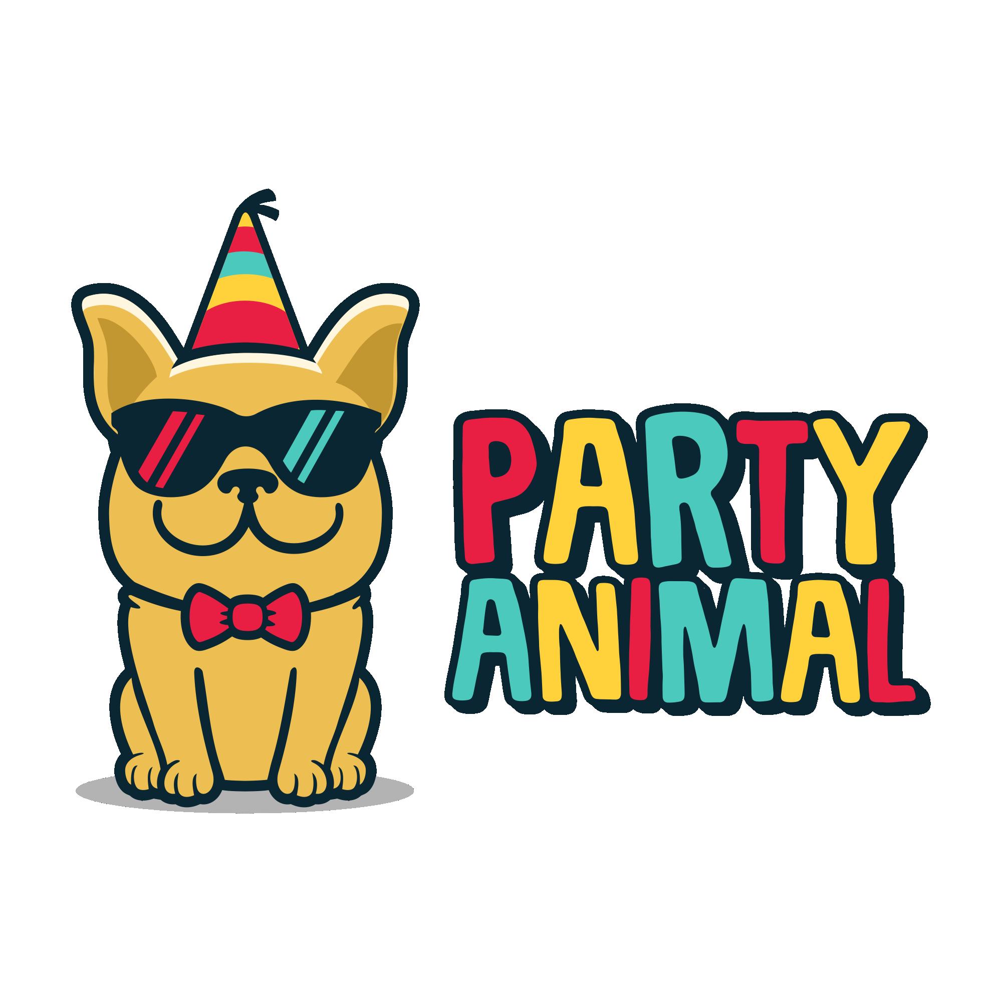 Design a hip, cool logo for Party Animal