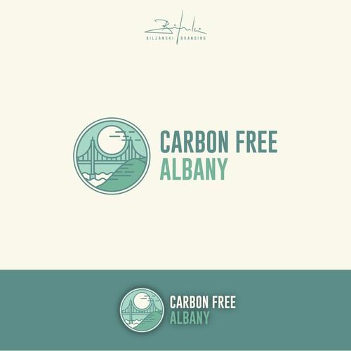 Carbon free Albany Logo