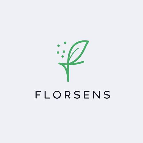 simple, elegant logo for an organic farmer