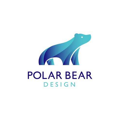 Tech polar bear logo