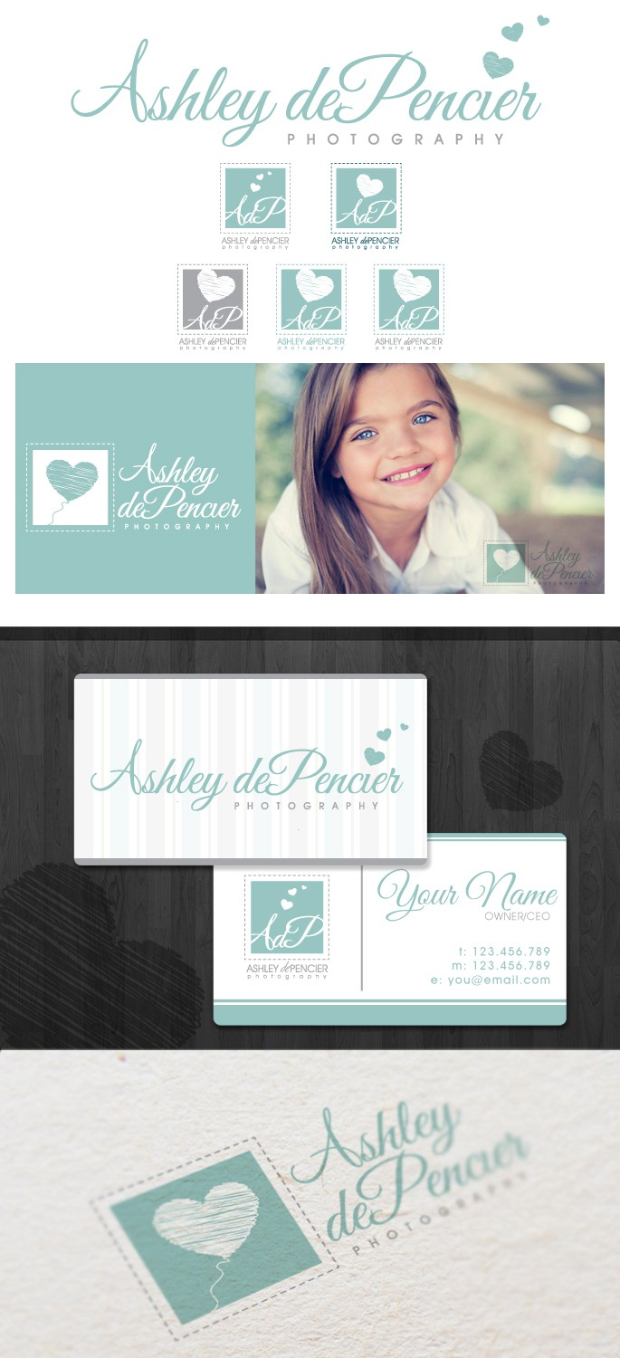 Create the next logo for AdP, Ashley dePencier Photography