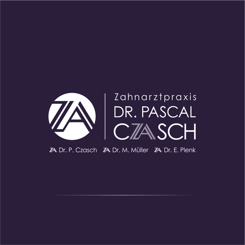 Simple, straight and significant concept logo for dental surgery