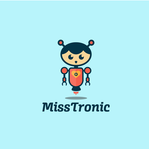 Mascot Robot Character