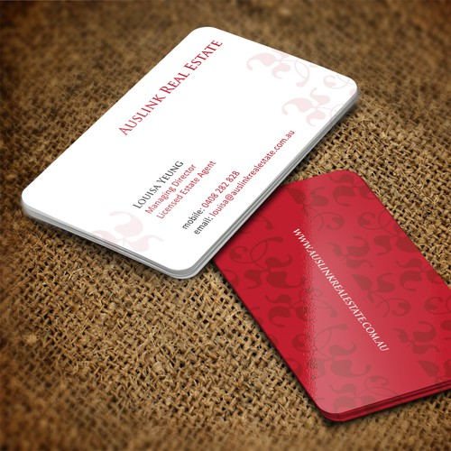 Business Card for Real Estate Agency