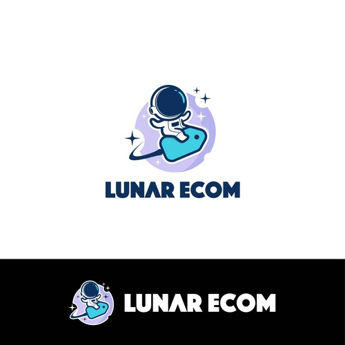 cute logo for Lunar Ecom