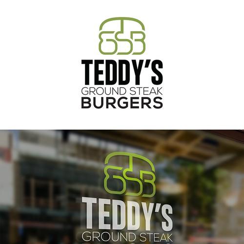 Teddy's Steak Burgers Logo