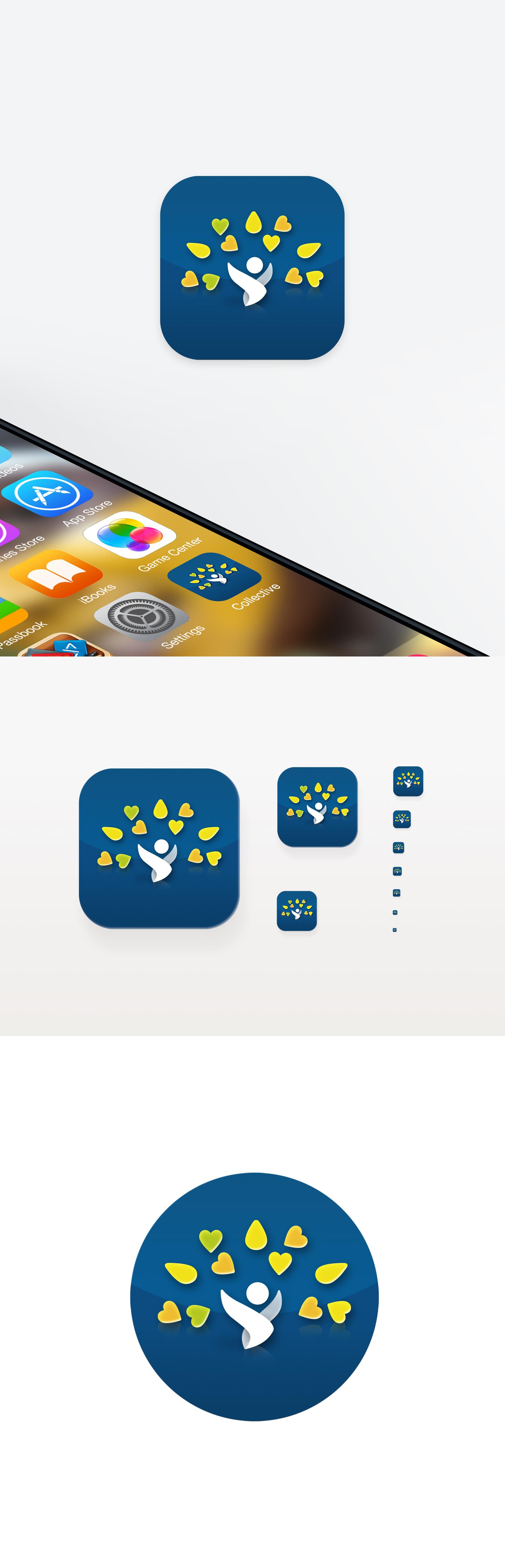 App Icon design to match logo design