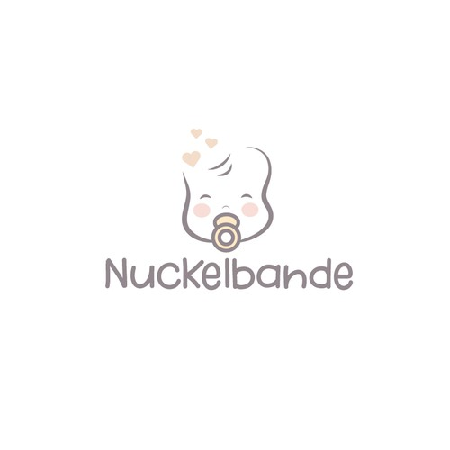 Baby logo for a baby brand.