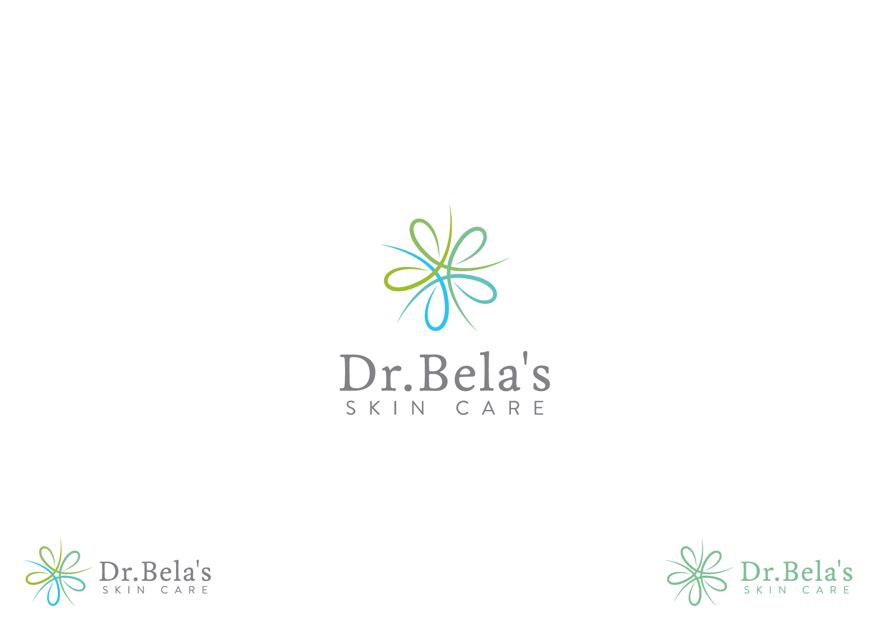 Create the next logo for Dr. Bela's Skin Care