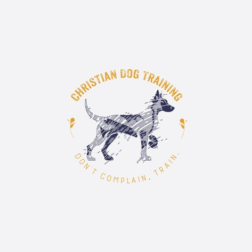 Logo design for Christian Dog Training