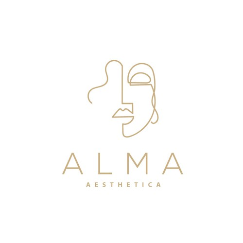 creative logo contest for ALMA Aesthetica