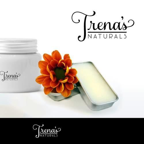 Trena's Naturals Cosmetics Logo