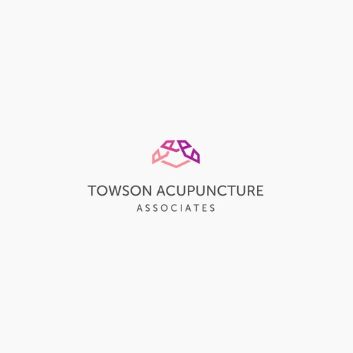 Modern logo for a acupuncture clinic