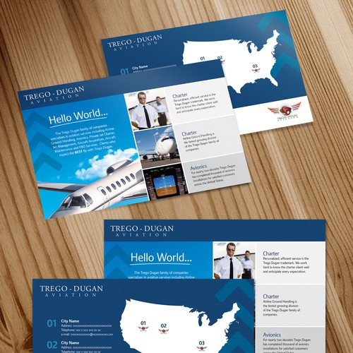 Two Page Business Developement Flyer