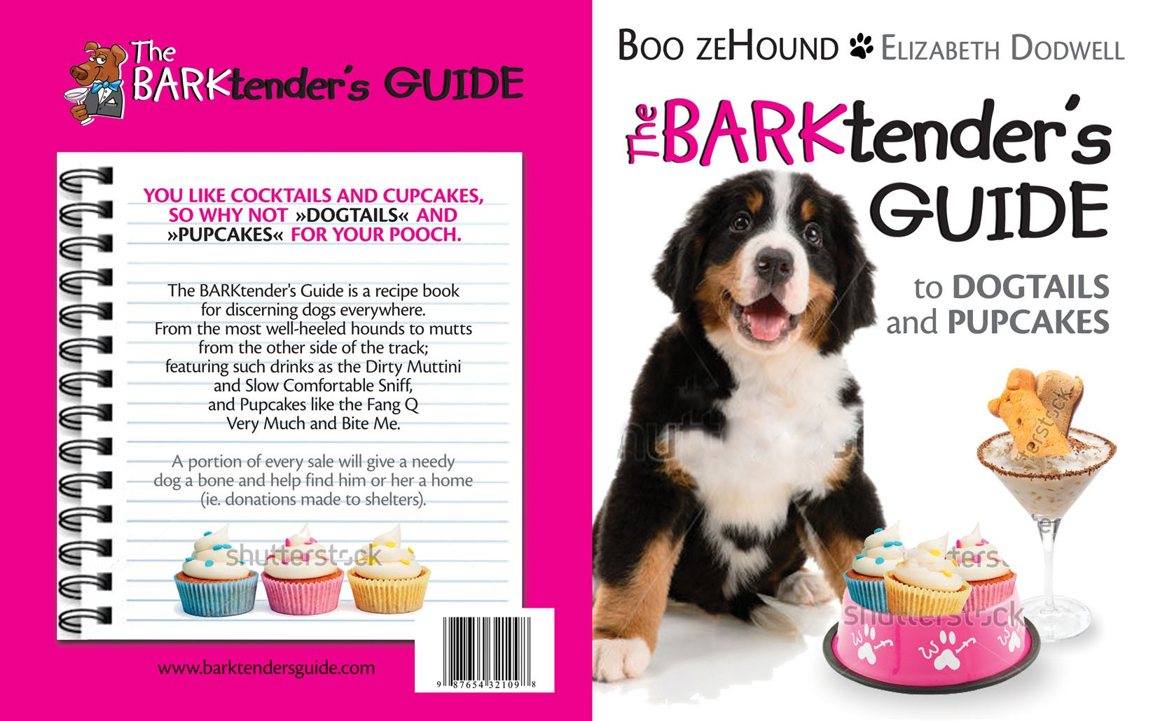Create the next book or magazine cover for The BARKtender's Guide LLC
