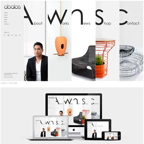 Word press Creative Website Design for Product Designer