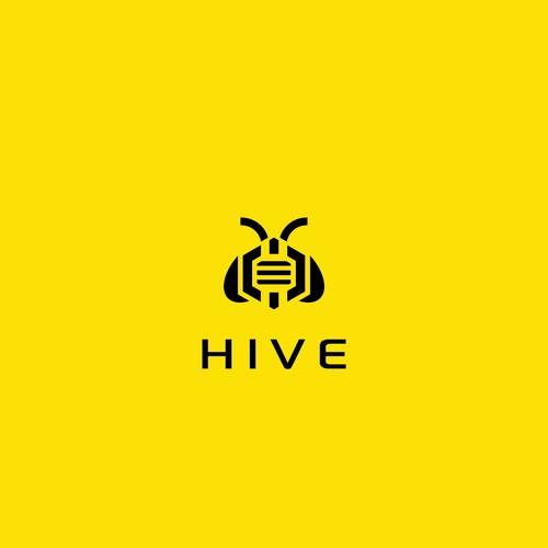 "Robotic's Company Product Logo ""HIVE"""