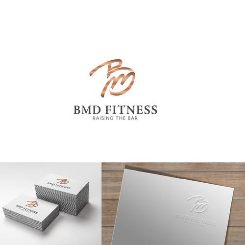 Logo für Fitnessstudio
