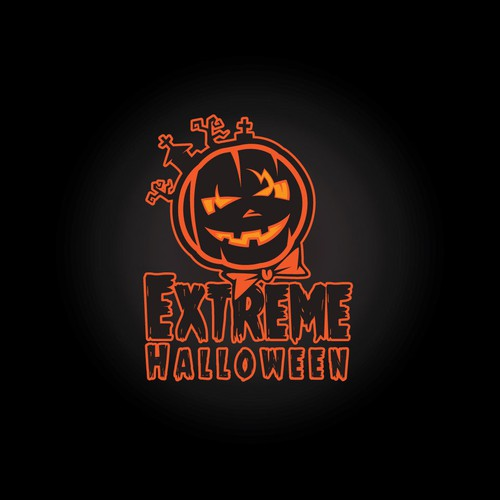 Need awesome Halloween store logo to catch passing traffic!!! More desins for signage need to winner