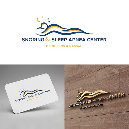 Logo design for Snoring & Sleep Apnea Center