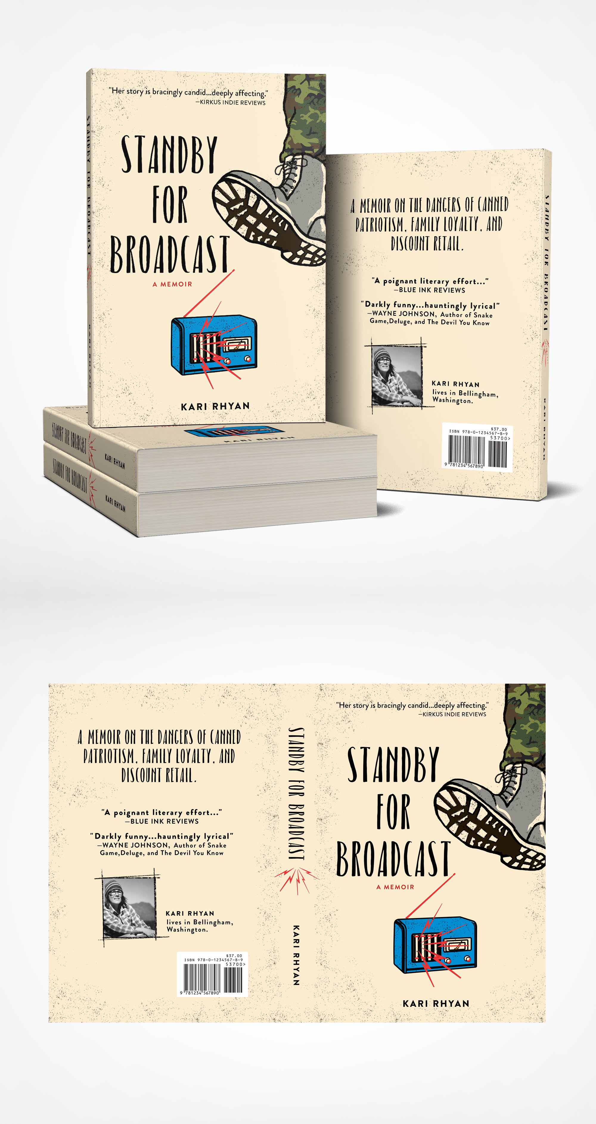 Design a retro-fabulous anti-war cover