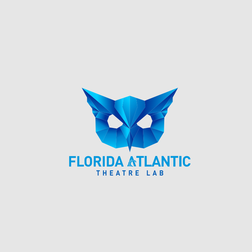 Modern Professional logo for FAU theatre community