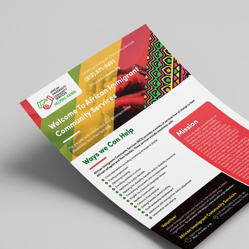 African Immigrants Community Services Flyer