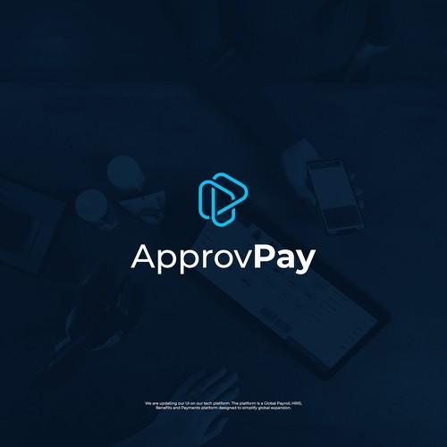 Tech logo for a payment platform