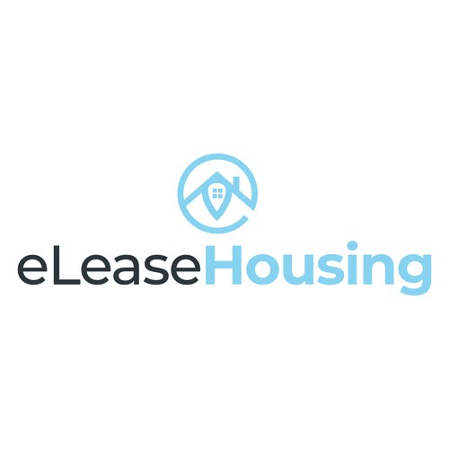 Simple and Modern Logo for eLease Housing