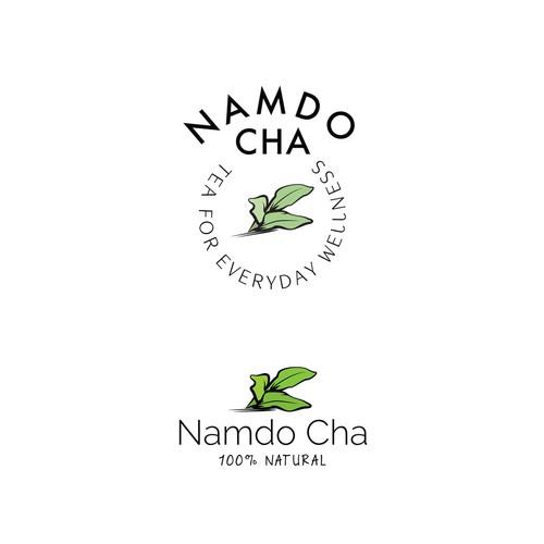 Korean Tea Logo Design